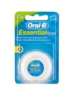 oral b essential floss single